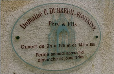 domaine dubreuil-fontaine pernand vergelesses