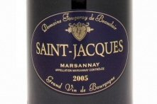 blue label fougeray de beauclair marsannay saint jacques