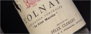 félix clerget volnay le crot martin 1972