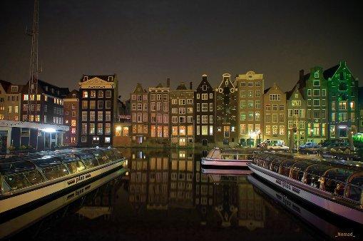 amsterdam nightshot