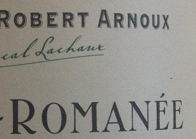 arnoux 2001 suchots