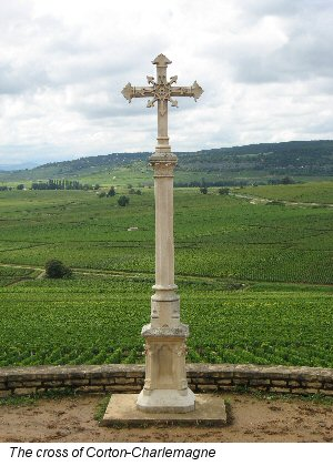 cross of corton charlemagne