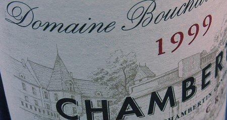 bouchard 1999 chambertin