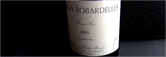 roblet-monnot volnay 1er robardelles 2000
