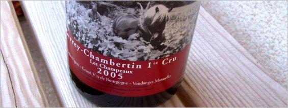 olivier guyot 2005 gevrey 1er champeaux
