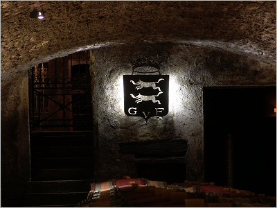 cellar of clos des lambrays