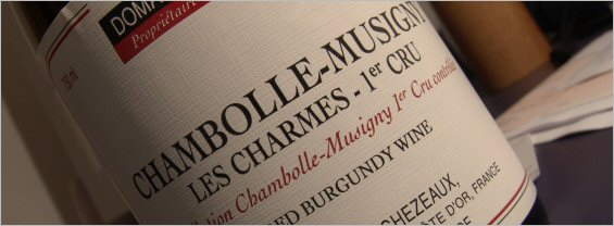 chezeaux ponsot chambolle musigny 1er cru charmes