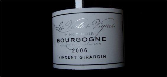 2006 girardin bourgogne pinot noir vieilles vignes