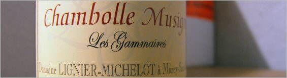 lignier-michelot chambolle musigny gammaires