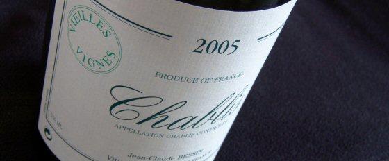 Jean-Claude Bessin Chablis Vieilles Vignes 2005