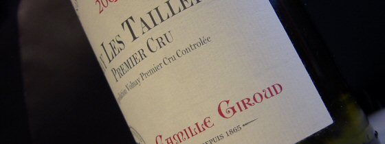 Camille Giroud, Volnay 1er Les Taillepieds
