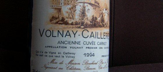 Bouchard Père et Fils, Volnay 1er Caillerets Cuvée Carnot
