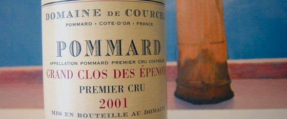 de Courcel 2001 Pommard 1er Grand Clos des Épenots