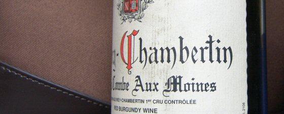 1999 Fourrier Gevrey-Chambertin 1er Combe Aux Moines