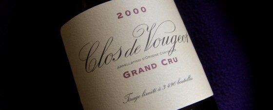 Domaine de la Vougeraie 2000 Clos de Vougeot
