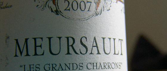 2007 Michel Bouzereau, Meursault Les Grands Charrons
