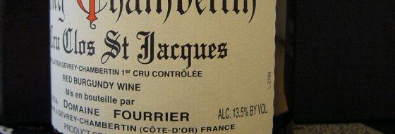 2002 Fourrier, Gevrey-Chambertin 1er Clos St.Jacques