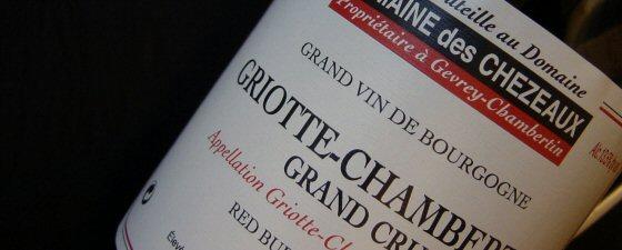 Domaine des Chézeaux 2007 Griotte-Chambertin