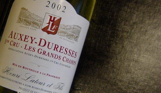 2002 Henri Latour et Fils, Auxey-Duresses 1er Grands Champs