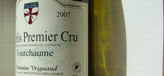 2007 Domaine Vrignaud, Chablis 1er La Fourchaume