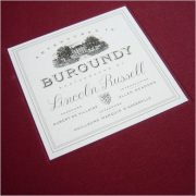 Adventures in Burgundy, Lincoln Russell (2008)