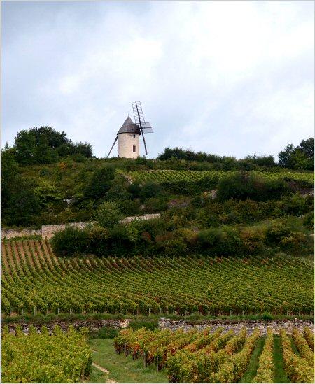 santenay's windmill