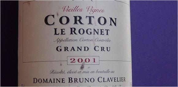 bruno-clavelier-2001-corton-rognets
