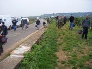 Day 6 - Arlaud entering Bonnes Mares