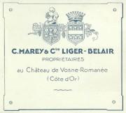 welcome back: c marey & comte liger-belair…