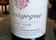 2011 ramonet bourgogne pinot noir…