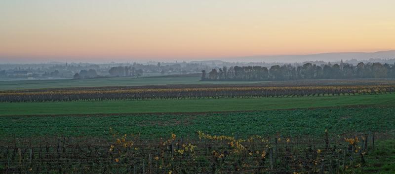 Saturday evening, towards Beaune
