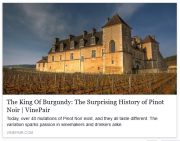 oops – a (pinot) history lesson…
