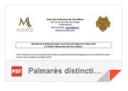Distinction Saint-Vincent 2016 – Mâcons 2014 & 2015