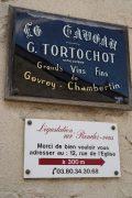 a few wines chez domaine tortochot