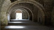 today in the abbaye de st.vivant…